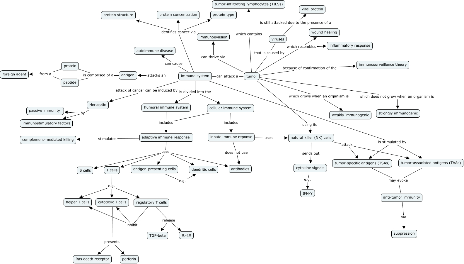 Adaptive Immunity Concept Map.Chapter 15 What Role Does The Immune System Play In Preventing Cancer